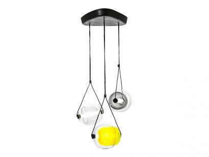 Capsula Triangle Suspension Lamp