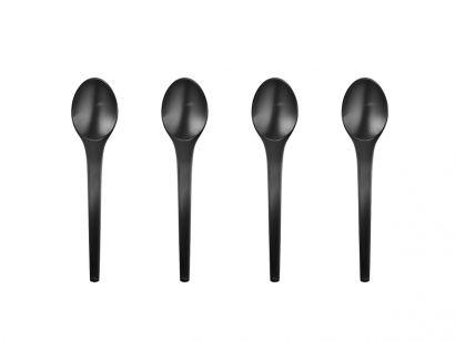 Caravel Teaspoons Set of 4 Pcs – Black