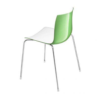Catifa 46 Chair - Bicolor / White Base