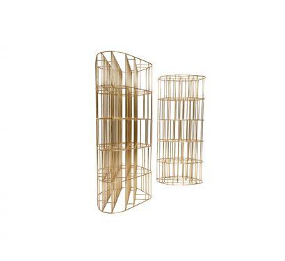 Golden Cage Bibliothèque