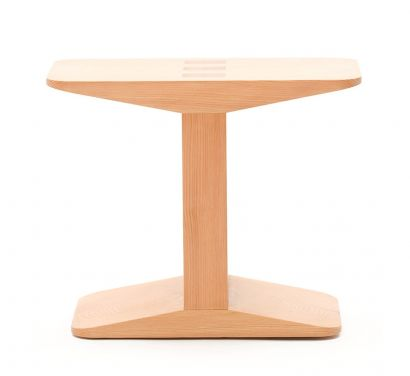 Centanni Stool In Solid Larch