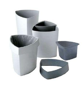 Cestino Gettacarte ECO Alluminio
