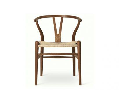 CH24   Mahogany High Glossy Lacquer - Wishbone Chair - Hans J. Wegner Birthday Edition