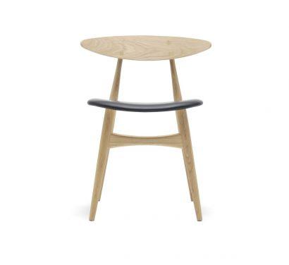 CH33P Chair - Soap Oak/Black Leather