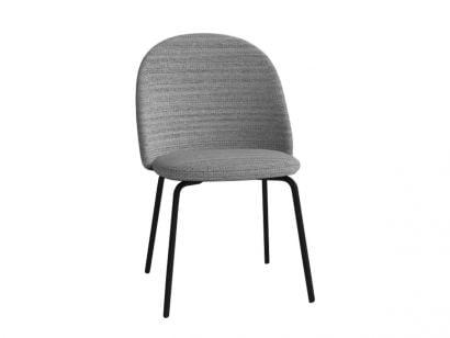 Iola SD 53 Chair - Salt and Pepper/Black