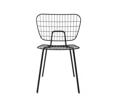 WM String Dining Chair Black