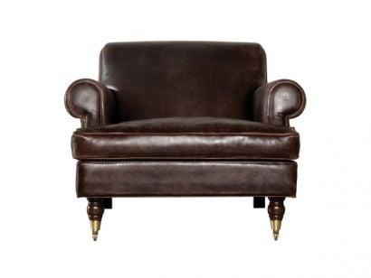 Charlotte Longe Armchair - River Nelson Leather