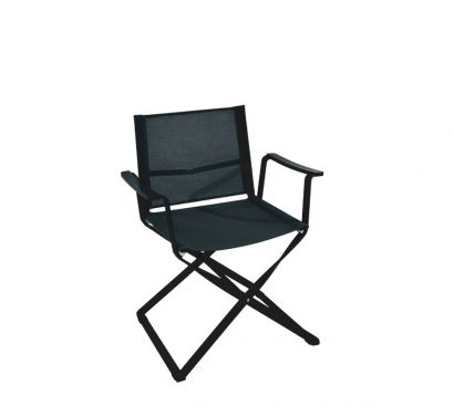 Ciak Folding Director Chair-Anthracite