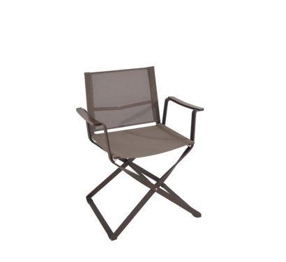Ciak Folding Director Chair-Brown