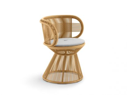 CIRQL Collection - Armchair with Central Base