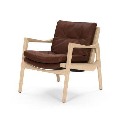 Euvira Lounge Chair Leather