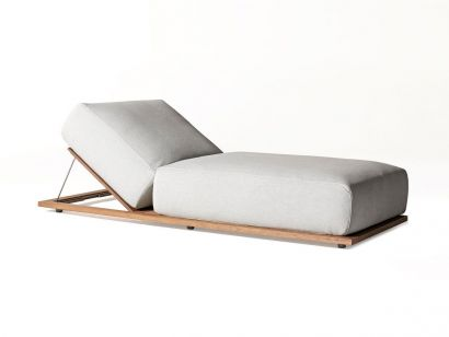 Meridiani Claud Open Air Lounge Bed