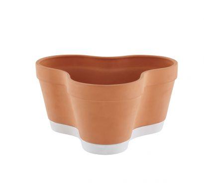 Clover Pot terracotta Vase