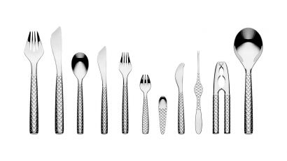 Colombina Fish Cutlery Service