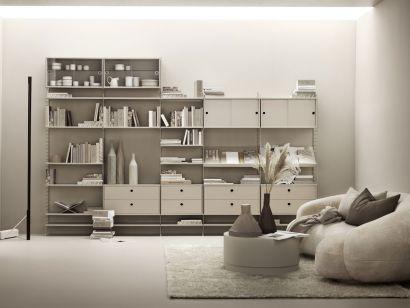 String Modular Bookshelf