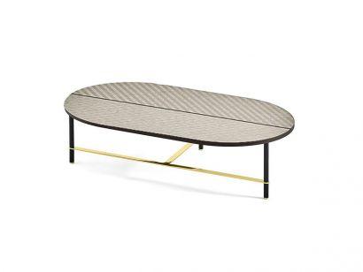 Cookies Coffee Table XL - Tweed Wooden Top