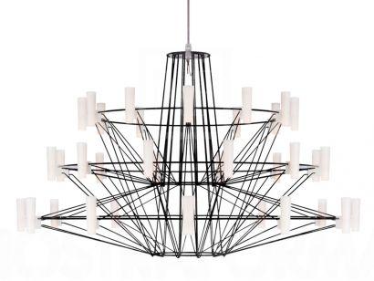 Coppèlia Suspension Lamp - Black