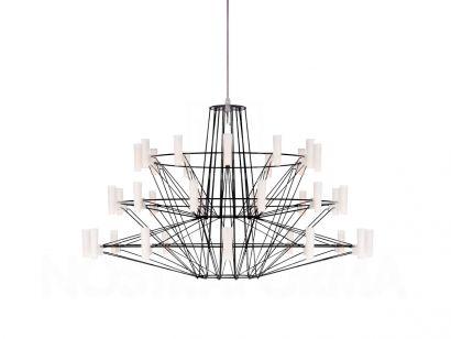 Coppèlia Small Suspension Lamp - Black