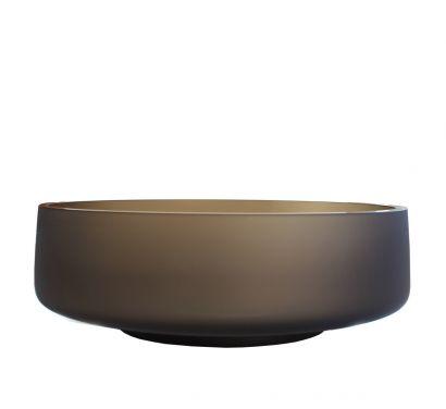 Zea Vase Coupe Large Bronze