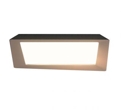 Crazy LED Lamp - Turledove/White