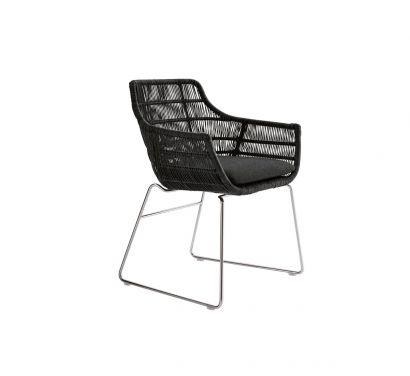 Crinoline Chaise avec Accoudoirs 66 cm