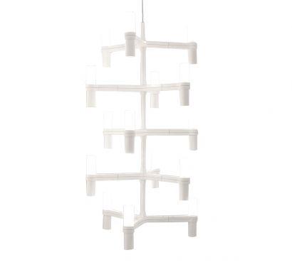Crown Multi White - Suspension Lamp