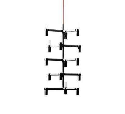 Crown Multi Black - Suspension Lamp