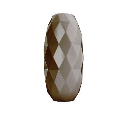 Cut Vase L - Mud
