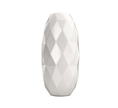 Cut Bianco Vaso L