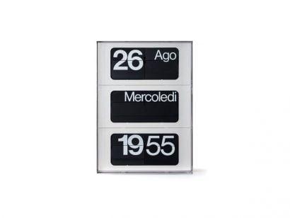 Dator 60V Clock - Vertical White