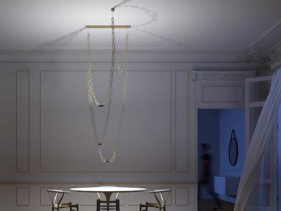 ChainDelier 1-3 Suspension Lamp Davide Groppi