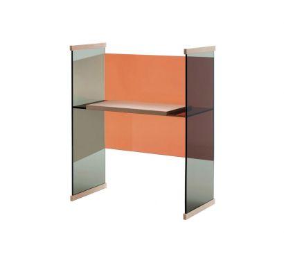 Diapositive Low Desk Orange/Grey