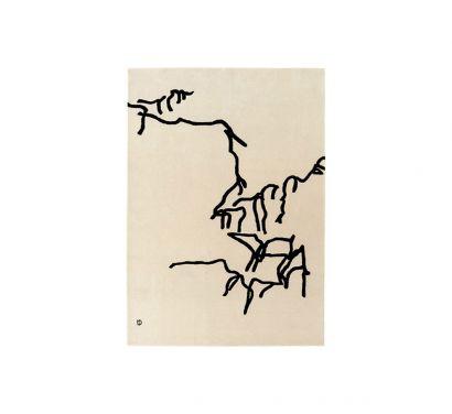 Chillida Dibujo Tinta 1957 Tapis