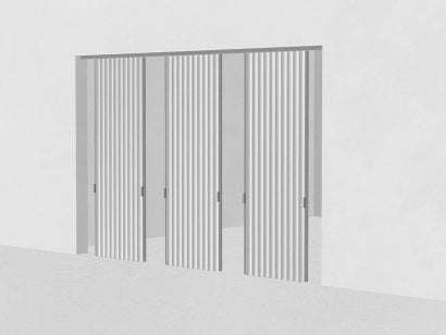 Dooor Multiple Opening - Textile Door