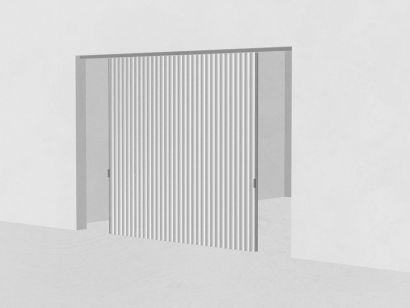 Dooor Bilateral opening - Textile Door