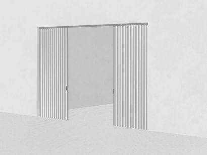 Dooor Central Centered Opening - Textile Door