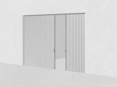 Dooor Decentralized Central Opening-Textile Door