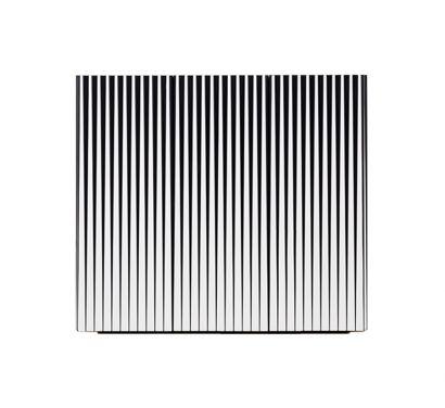 Dorotea 3 Doors Sideboard - White/Black