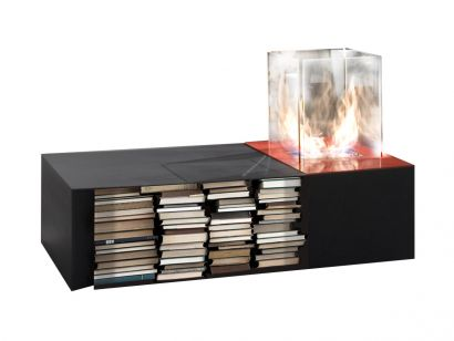 Drago Table with Biothanol Fireplace
