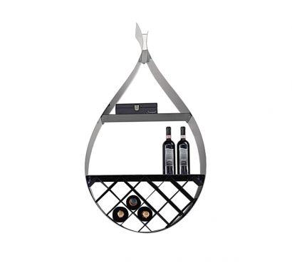 Drop Bookshelf / Wine Rack