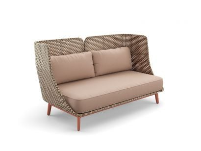 Mbarq 3 Seater Sofa High Backrest