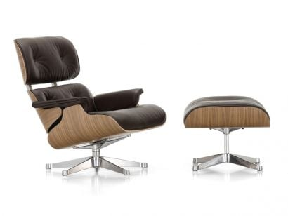 Lounge Chair & Ottoman Vitra by Charles & Ray Eames, 1956
