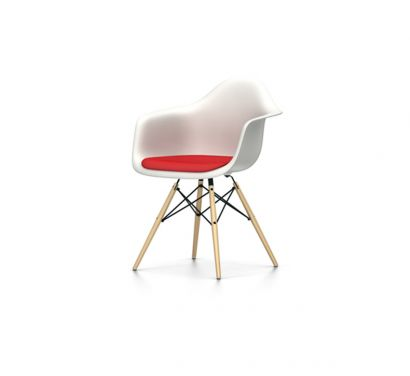 Eames Plastic Armchair DAW - Poltroncina Cuscino Hopsak