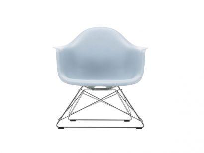 Eames Plastic Poltrona LAR - Base Cromo