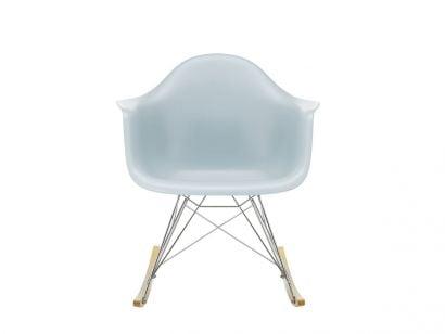 Eames Plastic RAR Rocking Chair Golden Maple/Chrome