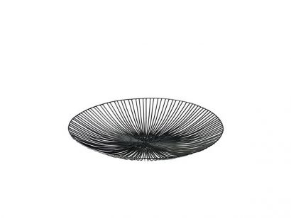 Edo Flat Plate Ø 50 - Black