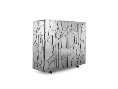 Scrigno Cabinet - Silver