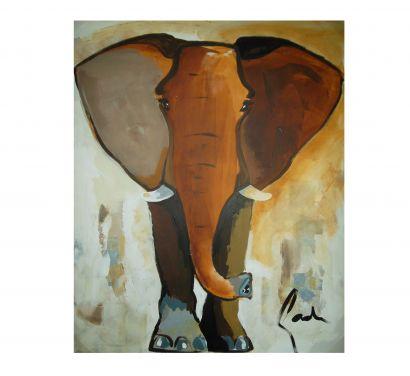 Elephant Colour 80x100