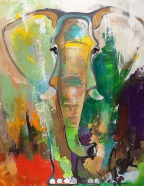 Elephant Dreams 90x120