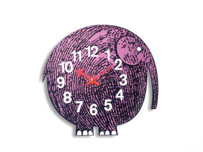 Elihu The Elephant Wall Clock